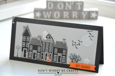 Carte Halloween - #HolidayHome #Halloween #Card #Stampinup