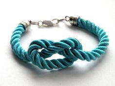 Turquoise Rope - bransoletka w Bajobongo na DaWanda.com
