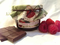 Raspberry Chocolate Jam by JennysJams on Etsy, $7.50