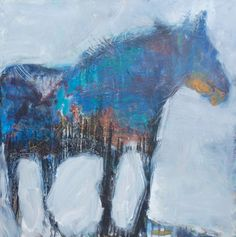 Blue Night 36x36  http://www.gahorseevents.com/susanburns