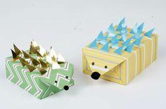 Etwas mehr Geduld braucht man um diesen Süßen Igel zu zaubern - Schöne und einfach umzusetzende Verpackungsideen für Geschenke
