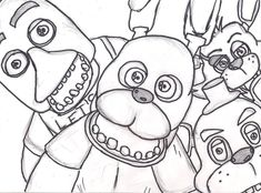 fnaf coloring pages   Coloring Pages for Kids