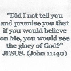 John 11:40