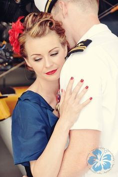 Absolutely LOVE this photo. Gorgeous! I want to take a military-inspired photoshoot with the hubby!!