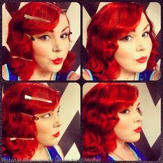 Bloom.com Vintage Hair Contest By Lauren Franz-Maurer.