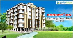 Gruha Kalyan CARNATION at Bannerghatta Road 2,3& 4BHK Flats/Apartments Available Opposite to IIMB Next to APPOLO Hospital.