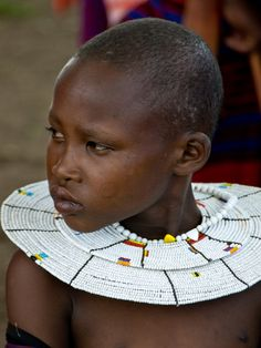 Maasai Child — Fotopedia