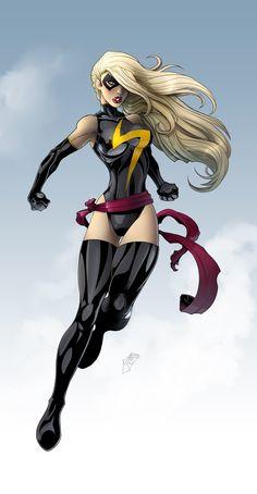 Ms. Marvel by *RDOWN on deviantART