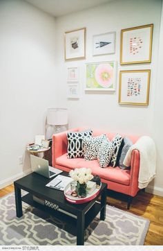Reading nook/statement couch