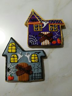 La casita del terror Galletas de Halloween