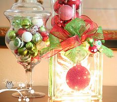 lovely christmas mantle decoration