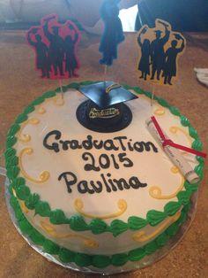 My Graduation cake! I finally did it! #UNCC #Charlotte