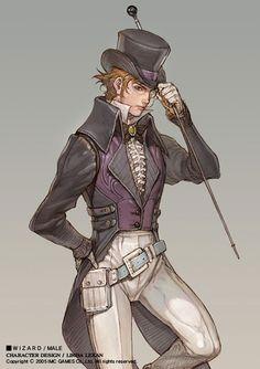 Male Wizard from Granado Espada