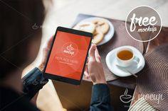 Free PSD Mockup iPad Mini - Mocup | PSD Mockups, Stock Photos and Videos