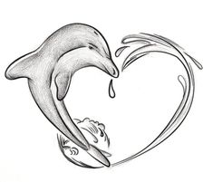 Dolphins Tattoos For Women