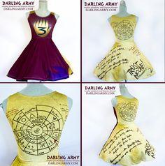 Gravity Falls Dipper Journal Cosplay Dress by DarlingArmy.deviantart.com on @DeviantArt