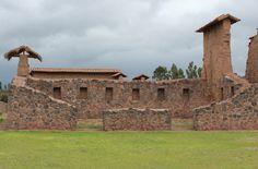 Raqchi is an important Inca settlement south of Peru. Photo by: Javier Vélez Arocho