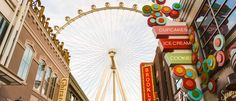 High Roller Above The Linq Las Vegas Promenade Things to Do