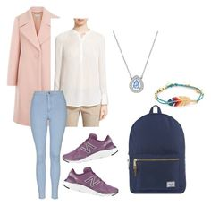 """Easter Trip 3"" by lanadavina on Polyvore featuring Hobbs, Vince, Swarovski, Gas Bijoux, Herschel Supply Co., New Balance and Topshop"