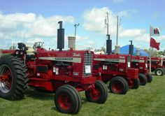 International Tractors, International Harvester, Ih, Farms, Collection, Tractors, Homesteads