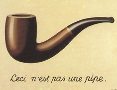 His painting of a pipe