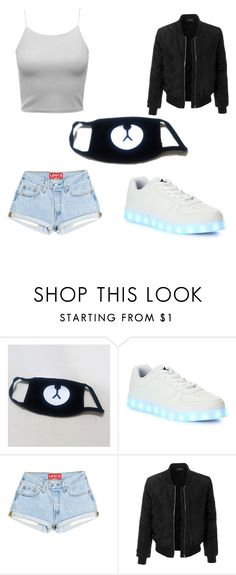 """""""Girl ayo and teo outfit"""" by keya06 ❤ liked on Polyvore featuring Wize & Ope and LE3NO"""