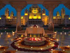 Rajasthan Dipavali Lights - Tour of Rajasthan with Parjatakguru