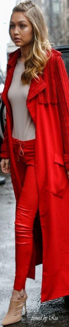 City Girl 📌💋💕 GiGi Hadid in New York City, Fashion Week for Fall 2016 l Ria