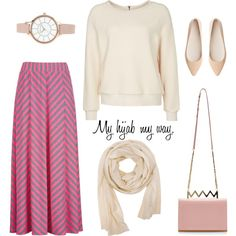 Muslimah fashion 2 by lai-la on Polyvore featuring Ganni, Witchery, Sara Battaglia, Anne Klein and Doublju