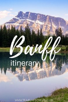 Best of Canadian Rockies - Banff itinerary for 3 days (with secret local tips). Canadian Travel, Canadian Rockies, Canadian Food, Alberta Canada, Quebec, Banff National Park, National Parks, Vancouver, Visit Canada
