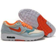 new concept 50514 89499 Fake Womens Nike Air Max 1 Glacier Blue Sail Shoes Nike Air Max Trainers,  Nike