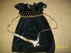 Girls-Dress-Black-Fancy-size-5