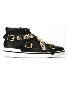 Sneakers #moschino #gold #details #luxury #italy #brand