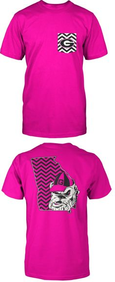 Cute Clothes For Women In Ga Neon Pink Georgia Bulldogs