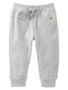 Knit cuffed pants   Gap