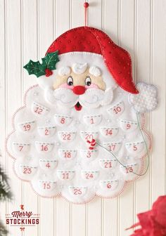 Bucilla Felt Christmas Advent Calendar Kit Bucilla felt applique kits are a Christmas tradition. New for May The only way to get a kit in newer condition is to pick it up in person from the factory. Christmas Stocking Kits, Christmas Sewing, Christmas Countdown, Christmas Stockings, Christmas Calendar, Felt Christmas Decorations, Christmas Wall Art, Christmas Fun, Christmas Ornaments