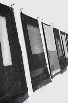 notes on cloth series Gizella Warburton