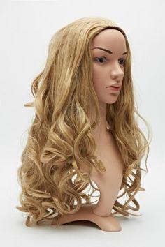 Curly Full Head Wig