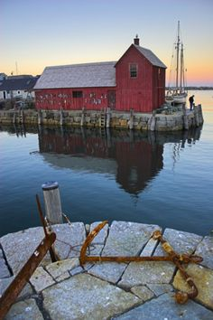 Rockport, Massachusetts - one of the most photographed and painted scenes in the US