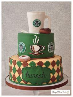 """""""We Met At Starbucks""""   ~ all edible"""