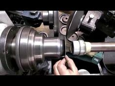 wyoblanie metal spinning steel 1mm plate www.rosik.pl - YouTube