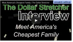Meet America's Cheapest Family - How would you like to pay off your first home in just 9 years? Or pay cash for your next car? How about spending less than half of what other families do on groceries? On this episode of The Dollar Stretcher Interview, meet Steve & Annette Economides, a couple who has done just that and much more to save big bucks for their family. Join us as we ask America's Cheapest Family how they managed these wonderful financial feats and see what they can teach you…