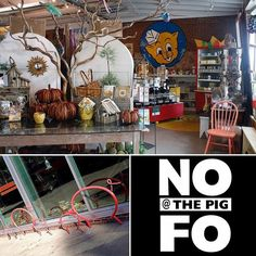 #fall is in full swing! Head to @nofo_at_the_pig for your #fallthemed needs! Be sure to check out the #nofo cafe after you shop! #showsomelocallove #shoplocal #eatlocal #fivepoints #raleigh #fallseason