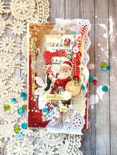 """Блог Scrapberry's: Вдохновение со Scrapberry's: Коллекция """"С рождеством!"""""""