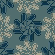NEARLY NATURAL – A bloomy insight into the strange growth patterns in nature. Find the SVG-file at patterndesigns.com: https://www.patterndesigns.com/en/design/16927/The-Geometry-of-Blooms