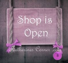 Shop Small Every week here at Katherines Corner I shine the spotlight on  talented independent artists and their shops. Today I remind you of the importance of shopping small. Yes, the big businesses do have theire place. I just ask you to stop and remember the little shop down the road, the