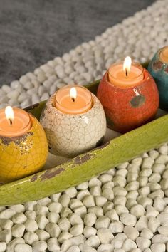 Mercade Tealight Candle Holders in Tray - Set of 5 on HauteLook