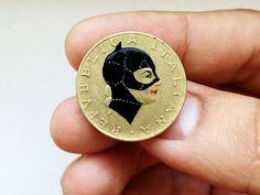 illustrazioni su moneta