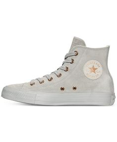 Converse Women's Chuck Taylor Hi Pastel Leather Casual Sneakers from Finish Line | macys.com