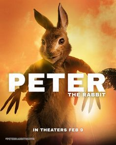 Peter has been catching up on movies before the big weekend. Here's his tribute to Logan! #GoldenGlobes | #PeterRabbitMovie in theaters February 9th.